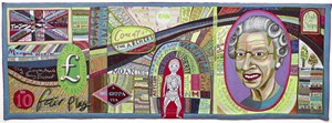 Comfort Blanket by Grayson Perry contemporary artwork