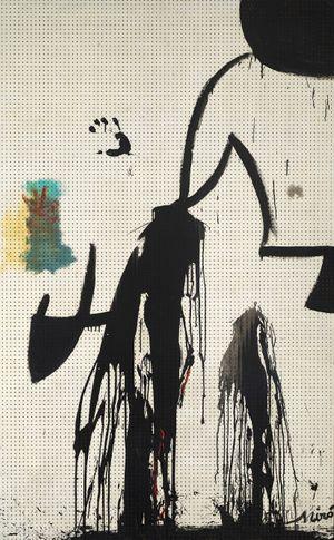 Peinture (Projet pour une tapisserie) by Joan Miró contemporary artwork