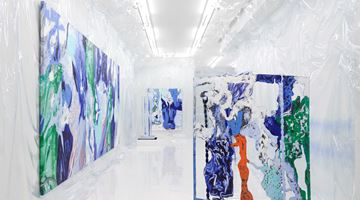 Contemporary art exhibition, Donna Huanca, WET SLIT at Simon Lee Gallery, London