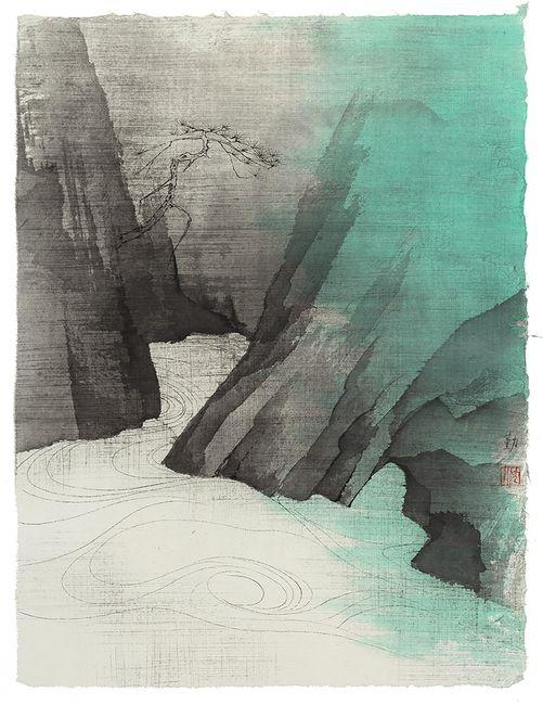 Mountain 20-11.2 by Shen Qin contemporary artwork