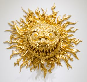 Angry Sun by Tony Tasset contemporary artwork