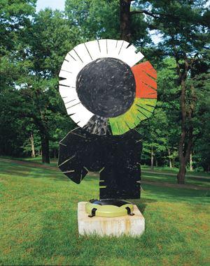 Rebecca Circle by David Smith contemporary artwork