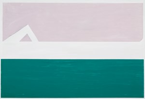 Crook by Raoul De Keyser contemporary artwork