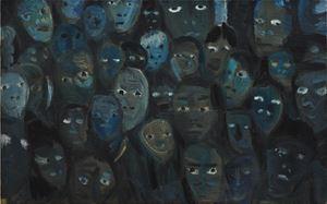 Crowd (No.1) by Duan Zhengqu contemporary artwork