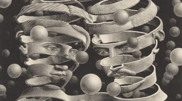 Contemporary art exhibition, M.C. Escher, M.C. Escher: Prints, Drawings, Watercolors and Textiles at Bruce Silverstein, New York, USA