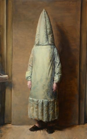 Large Rocket by Michaël Borremans contemporary artwork