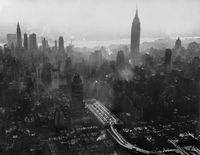 Skyline, New York City, 1953 by Werner Bischof contemporary artwork photography