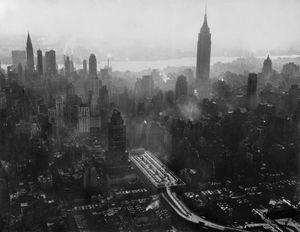 Skyline, New York City, 1953 by Werner Bischof contemporary artwork