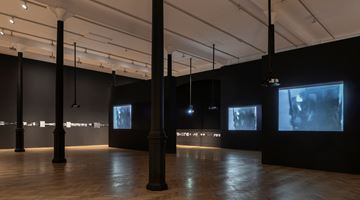 Contemporary art exhibition, Acconci Studio, FAULT-LINE-ON-5 at Pace Gallery, London