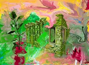 Ficus Elastica by Stephen Bush contemporary artwork