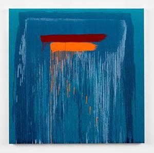 Considering Rothko #10 by Pat Steir contemporary artwork