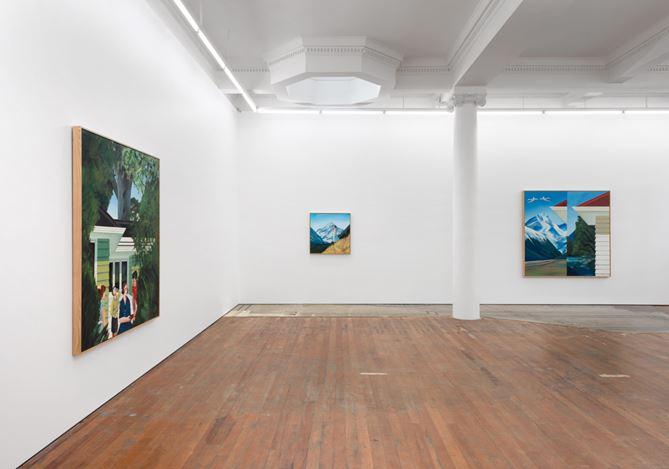 Exhibition view: Ian Scott, Paintings from the 1960s, Michael Lett (7 September–5 October 2019). Courtesy Michael Lett.