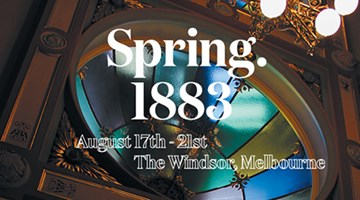 Contemporary art exhibition, Spring 1883 - Melbourne at Neon Parc, Melbourne
