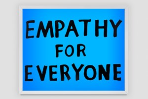 Empathy for Everyone (large version) by Sam Durant contemporary artwork
