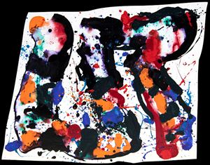 Untitled, 1985, San Leandro by Sam Francis contemporary artwork