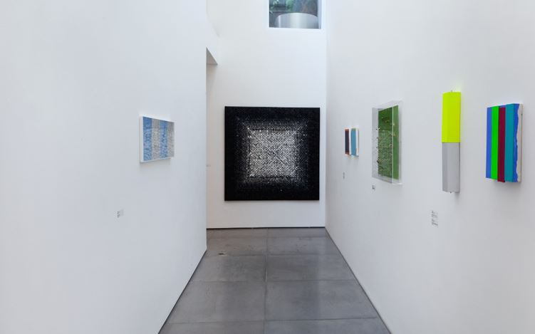 Group Exhibition, Chromophilia vs Chromophobia: Continues, Exhibition views. Image courtesy of Nara Roesler, Rio de Janeiro,