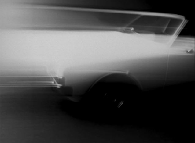 Kevin Jerome Everson, Opel(2021). Detail fromRekord C Three, 16mm film transfer to HD, dual projection, sound. Courtesy  the Artist and Andrew Kreps Gallery, New York.