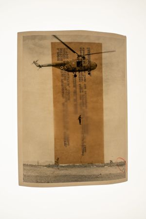 Interventions: Helicopter by Sim Chi Yin contemporary artwork print, mixed media