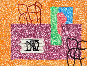 Untitled by Jonathan Lasker contemporary artwork