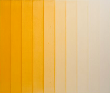 Yellow Ochre Water Colour Painting by Simon Morris contemporary artwork