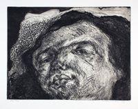 Gesicht Radierung by Marwan contemporary artwork print