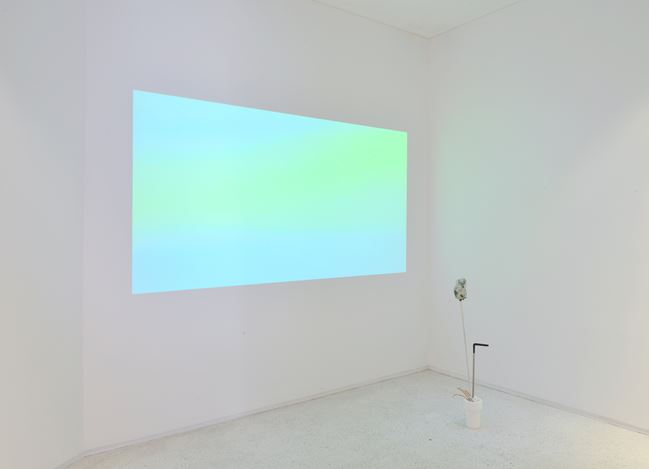 Exhibition view:Group Exhibition, The Camp #1: Timekeepers, Whistle & Galerie ERD, Seoul (7–29 September 2018). Courtesy Whistle.