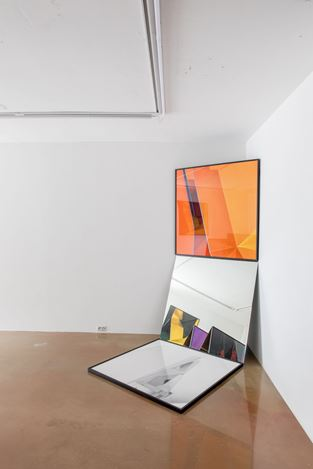 Exhibition view: Sanghyeok Lee and Dahahm Choi, Reflection Studies, One and J + 1, Seoul (28 Feburary–30 March, 2019). Courtesy One and J + 1.