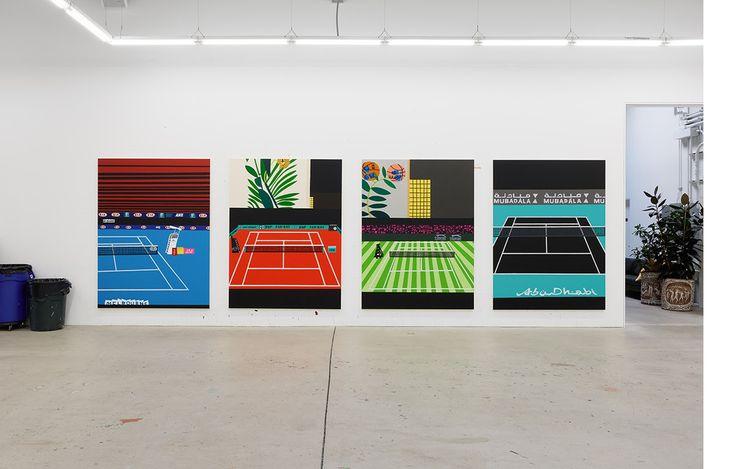 Four Tennis Courts