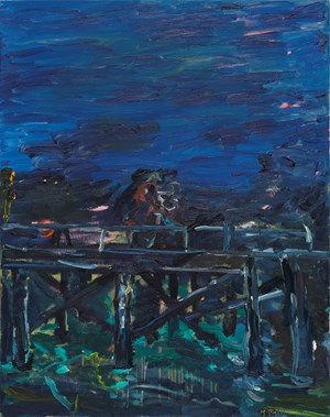 On the Wharf by Michael Taylor contemporary artwork