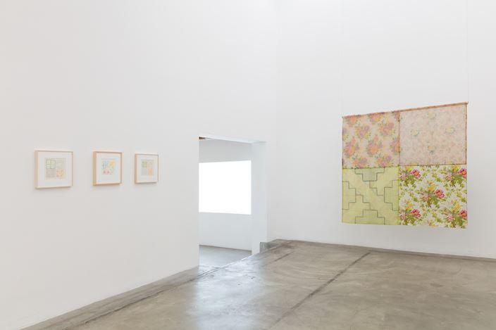 Exhibition view: Tina Girouard, A Place That Has No Name: Early Works, Anat Ebgi, Los Angeles (22 February–13 June 2020). Courtesy Anat Ebgi.