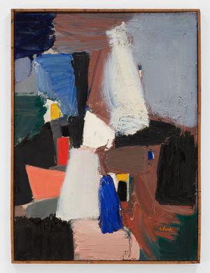 1954 by Ed Clark contemporary artwork