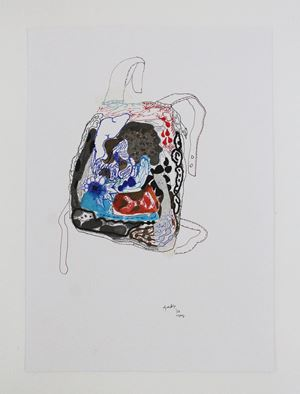 Backpack 4 by Jagath Weerasinghe contemporary artwork