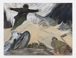 Explosion, 1917 by Jacqueline de Jong contemporary artwork
