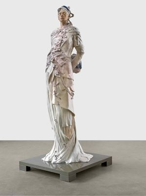 Sie blieb by Jonas Burgert contemporary artwork