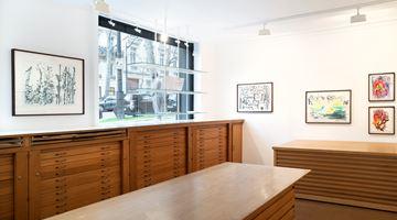 Contemporary art exhibition, Simone Fattal, Au bord du Barada at Galerie Lelong & Co. Paris, 13 Rue de Téhéran, Paris
