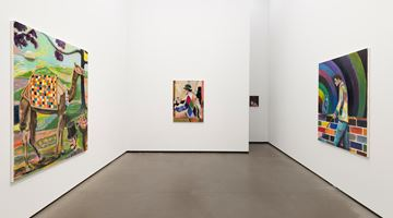 Contemporary art exhibition, Ryan Mosley, A planets revolution at Galerie Eigen + Art, Berlin