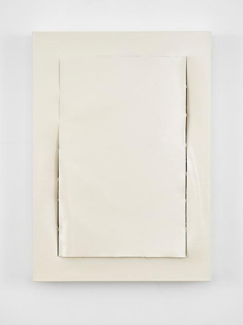 Peel (Off White) by Angela De La Cruz contemporary artwork
