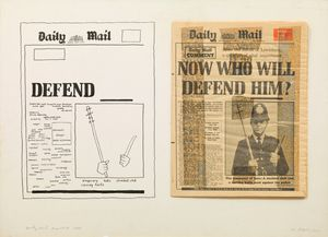 Daily Mail - Poem of Hate by Derek Boshier contemporary artwork
