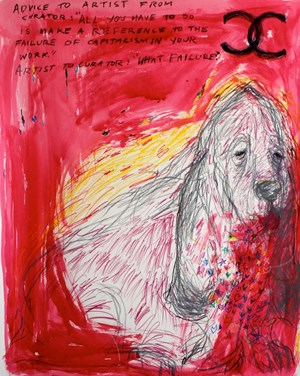 Farnsworth can't afford it by Anastasia Klose contemporary artwork works on paper