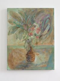 Still Life (coiled vase) by Séraphine Pick contemporary artwork painting, works on paper