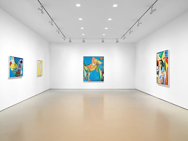 Exhibition view: Hans Hofmann, Miles McEnery Gallery, 520 West 21st Street, New York (3 January–2 February 2019). Courtesy Miles McEnery Gallery.