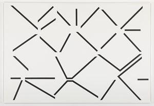 Condensation critique du vide n°3 by Geneviève Claisse contemporary artwork