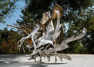 Frito's Reliable Moon by Nancy Rubins contemporary artwork sculpture
