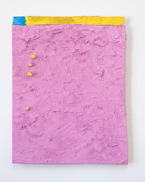 Untitled (pink) by Louise Gresswell contemporary artwork painting