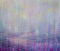 Ethereal by Driss Ouadahi contemporary artwork painting, works on paper