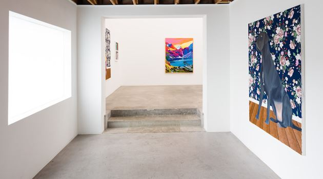 Anat Ebgi contemporary art gallery in Culver City, Los Angeles, USA