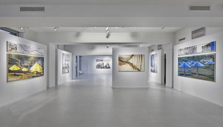 Exhibition view: Christo,Nature | Environments,Galerie Gmurzynska,Talstrasse 37,Zürich (11 September–20 November 2021). CourtesyGalerie Gmurzynska.