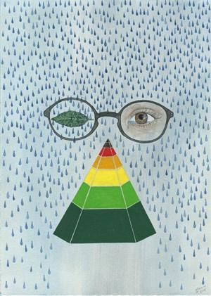 Seasonal Pyramid by Zina Swanson contemporary artwork
