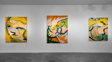 Contemporary art exhibition, Yulia Iosilzon, Fanfarria at Huxley-Parlour, London