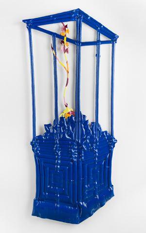 Blue Cabinet by Caroline Rothwell contemporary artwork